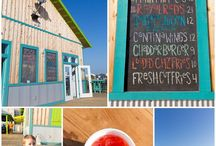 Gulf Coast Restaurants / I love blogging about my family's adventures along the Gulf Coast, and that includes lots of good eating! Click on a pin to read more about some of our favorites. :) http://www.uninventedcolorsphotography.com/blog-index/