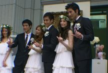 Bridesmaid / hairstyle