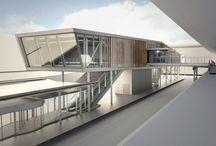 architecture - Trondheim Lufthavn Værnes