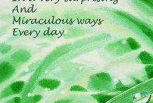 Abundance / An abundant life I choose