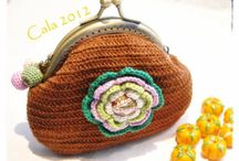 Crochet Coin Purses, Pencil Cases / by Vanegumis