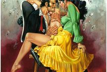 Rafael Gallur (1948) / Mexican comic book artist
