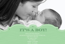 Baby Boy Announcements / by ModernGreetings.com