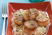 Foods....recipes for scallops