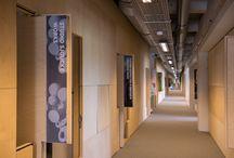 Founded by All, creative business hub, Klokgebouw / In opdracht van Trudo Monumenten heeft Stam + De Koning de vijfde verdieping van het Klokgebouw omgebouwd tot design incubator. Fotocredits: Ruud Strobbe