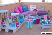 Muebles terraza