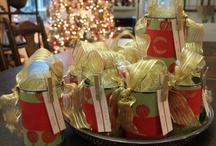 Christmas decor making / by Carolyn Hirt