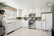kitchen layout / by Jen Bren