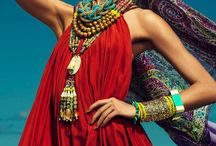 gipsy,boho & hippy style