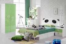 Panda bedroom