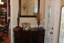 Home Sweet Home...Entryway  / Tables, seating, storage ideas and decor - inspiration to make entryway inviting and functional / by Tanya Prehn
