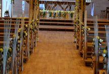 Décors floraux pour soirées à thèmes au CFA et à l'extérieur. / décors floraux réalisés par les apprentis et leurs formateurs.