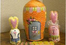 Easter needlepoint