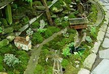 Fairy Gardens and furniture to make / by Pamela ORourke