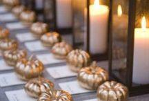 wedding pumpkins
