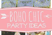 Boho Chic Party Ideas
