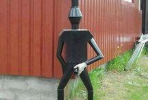 kreativní nápady do zahrady