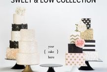 Sweet and Low Cake stands / Our latest cake stand collection is a strong low profile cake stand perfect for everything from cupcakes to multi tiered cakes.