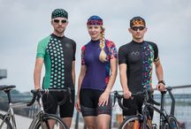 Cycling kits / Our jerseys have aerodynamic shape, are made of breathable materials is three areas technology.