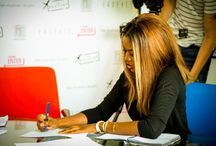 June Sarpong Apprenticeship Screening Day / June Sarpong MBE hosted a screening day at FashionCapital for 5 new apprentices for her upcoming brand Ldny