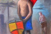 Márcio Camargo Pintor brasileiro contemporâneo