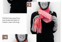 Мода шарфы