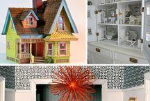 Dollhouses / by Sezin Zuzu Koehler