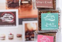 Empaques brownie con almendras / Encontré estas ideas en tu querido pinterest.