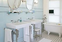 Upstairs Bathroom / by Crystal Stone