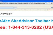 How to Fix McAfee Siteadvisor Toolbar Not Working issue?