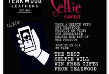 Selfie contest /  Teakwood Leathers announces selfie contest Post your selfie and Win Free genuine leather Products from the House of Teakwood Leathers : https://www.facebook.com/teakwoodleathers/  Entries Valid till 31st July 2016!Hurry Store:SF-14 Second Floor, MGF Metropolitan Mall, M.G Road, Gurgaon, Haryana 122002