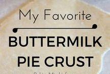 Buttermilk and kefir