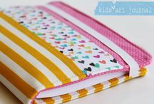 DIY Fabric Art Journals / More Free Sewing Patterns and Tutorials at www.Love-to-Sew.com
