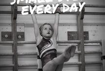 Gymnastics . (Kinsley) / by Melissa Battles