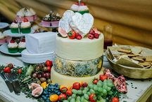 Cheese Tower Wedding Cakes