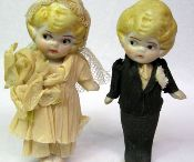 """Wedding Jewelry & Cake Toppers / Vintage finds for that """"something old"""""""