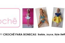 LOOK DO DIA / Pink Crochê roupas e acessórios para Barbie e Ken e outras dolls / Roupas e acessórios para boneca Barbie e similares. www.pinkcroche.blogspot.com.br