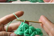 Crochet Stitches Tecniques