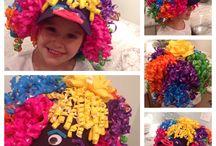 crazy hat & hair day
