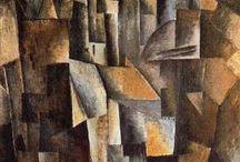 2. kubismus analytický (1910-1912) / Pablo Picasso, Georges Braque