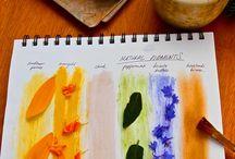 Painting Projects- Art Class / by Jen Matott