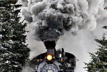 Estaciones y trenes