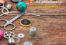 Rádio do Artesanato / Venha Ouvir e produzir escutando a melhor radio de artesanato do Brasil.