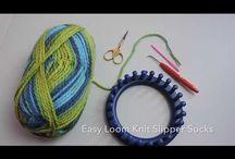 pletení na kroužku