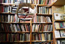 Books, books, books / by Bonnie Ong