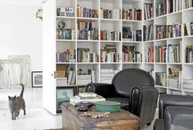 Book shelves / I love books, the more room to store them the better
