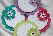 Scrapbook embelishments / Homemade embellishments for Scrapbooking