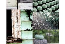Color love: mint and grey