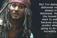 Captain.. it's CAPTAIN Jack Sparrow. / by Susan Apolonio