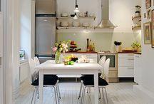 Copenhagen flat kitchen remodel